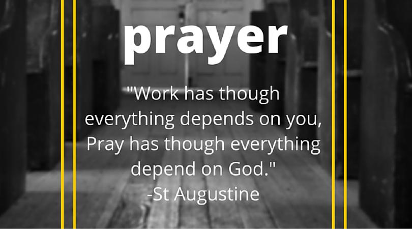 5 Minutes To Taking Territories: Prayer