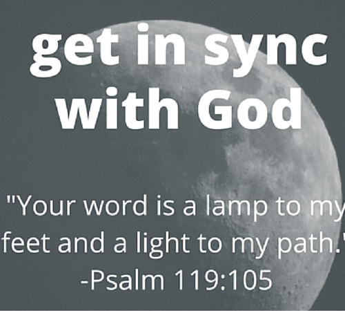 5 minutes to taking territories: get in sync with God